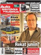Ajolinja tai Auto, tekniikka ja kuljetus -lehti