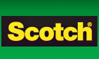 Scotch -teippi ja kiinnityspalat