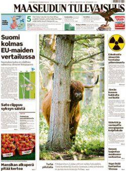 Maaseudun Tulevaisuus -lehti (3 numeroa)