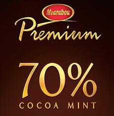 Marabou Premium 70 % Cocoa Mint -suklaa