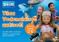 SEA LIFE -lippu (Helsinki)